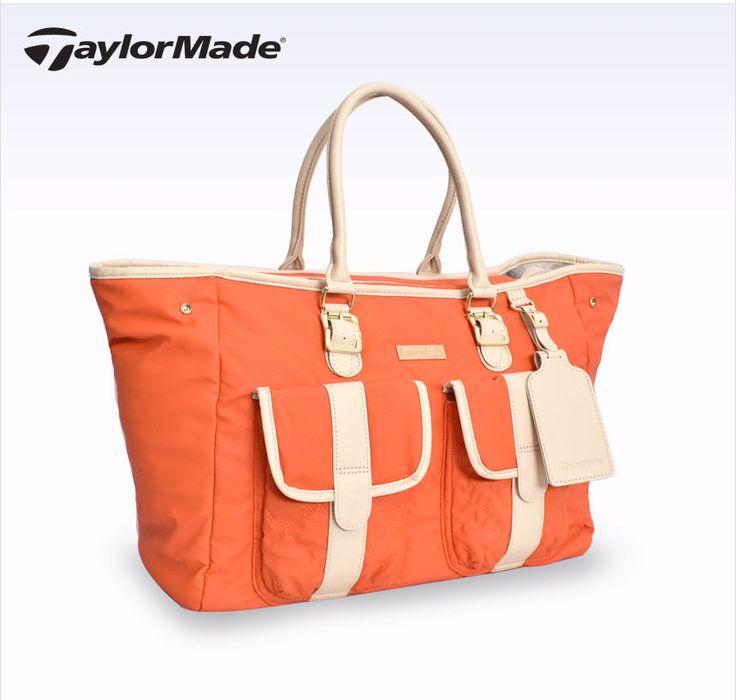 adidas TaylorMade Unisex WPU Boston Bag Sports Shoulder Bag Travel Orange AE2317 #adidasTaylorMade #BostonBag