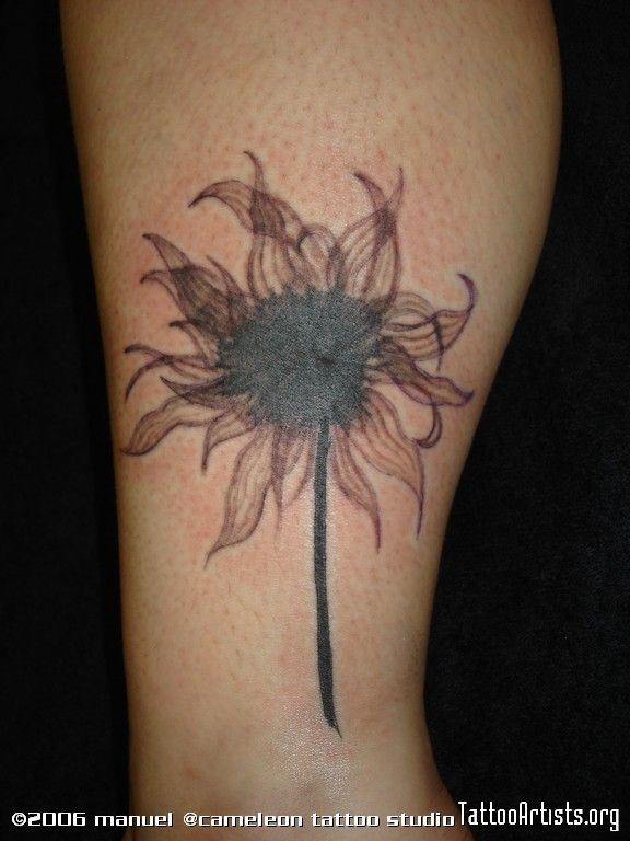 Black Dahlia Flower Tattoo For What I Know Pictures