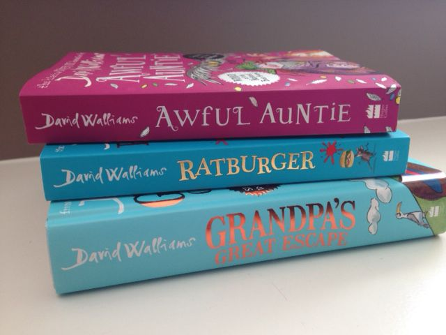 This summer read some great books from David Walliams with your tween. His books are funny, easy to follow and great reads!