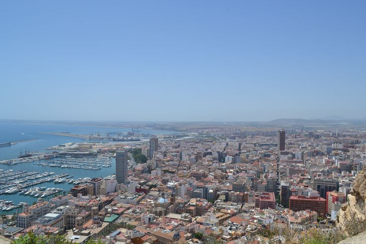 Alicante - view from Santa Barbara Castle