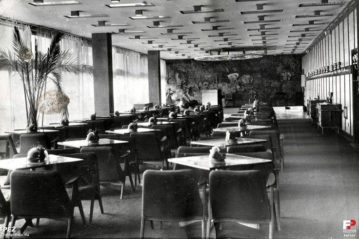 Restauracja Hawana, Krynica Zdrój, 1969