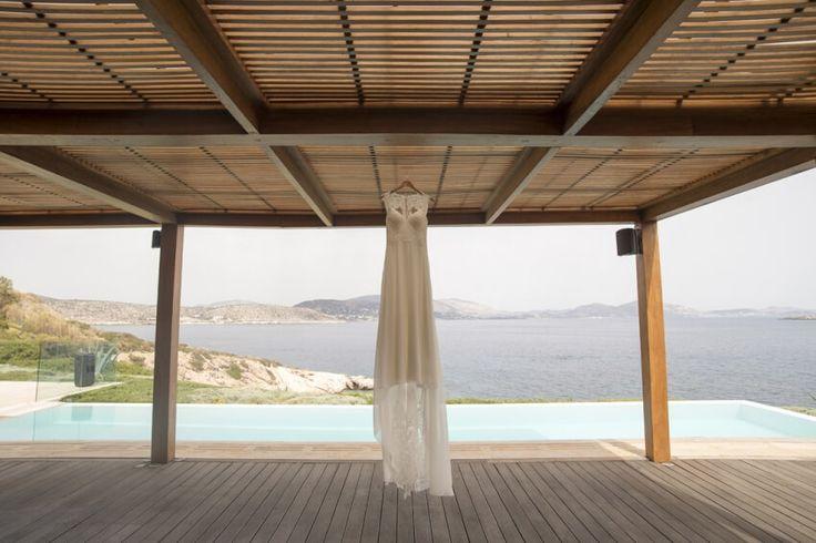 Jamie and Derek, a romantic wedding in Athens Riviera, Greece - https://weddingingreece.com/wedding-in-athenian-riviera-jamie/