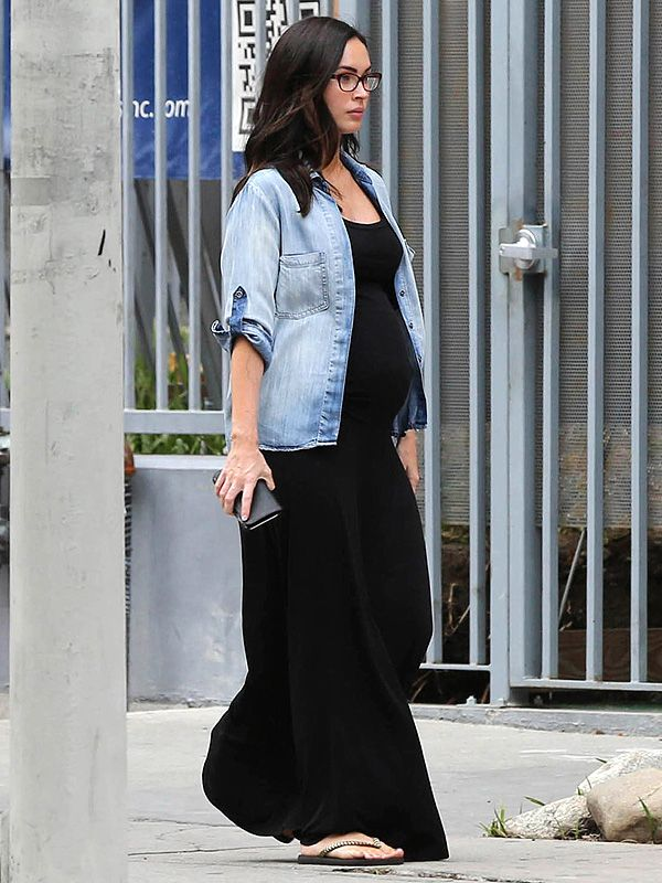 Megan Fox Shows Off Growing Baby Bump During Afternoon Outing in Los Angeles