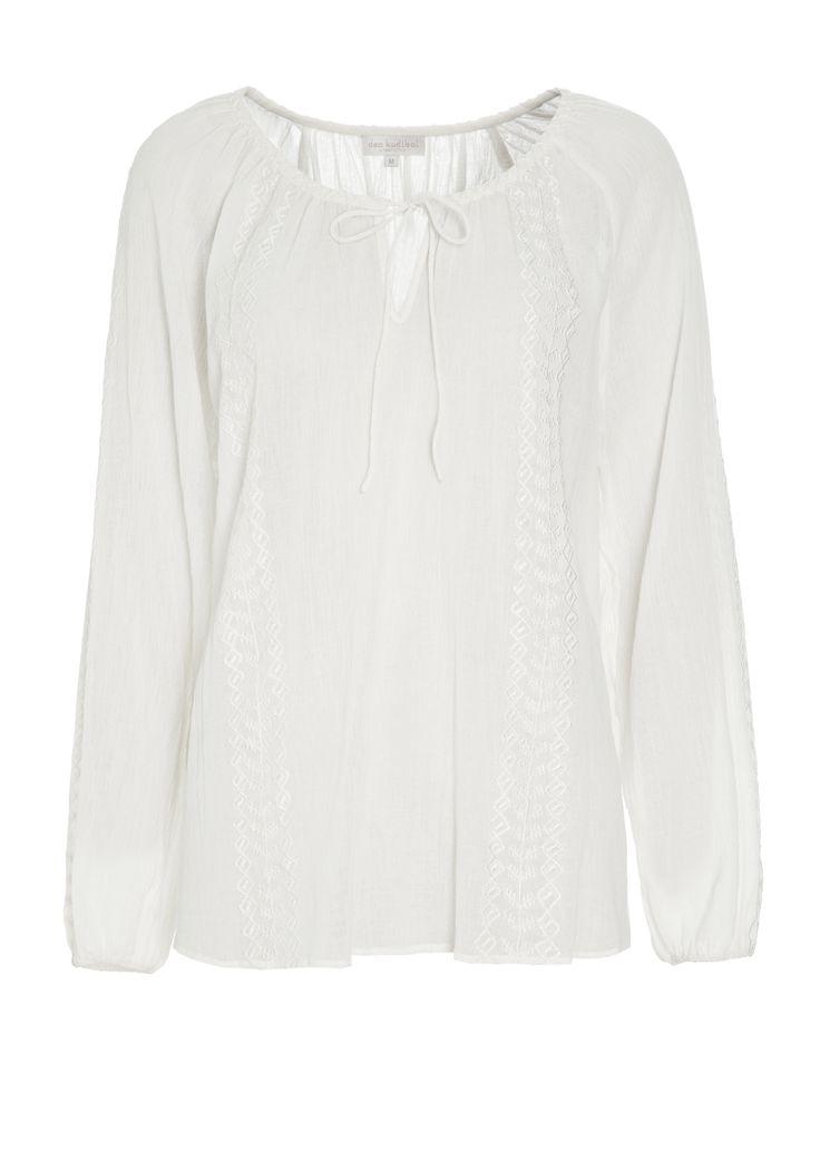 Danielle tunic - Natural White