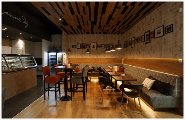 PICNIC Bistro & café by Joseph Tucny, via Behance