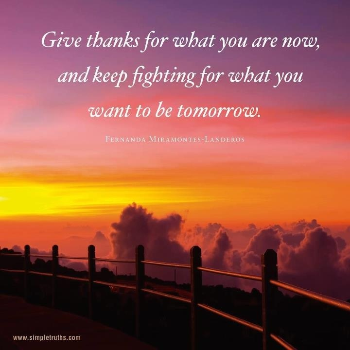 Thankful Quotes Inspirational: Giving Thanks Quotes And Sayings. QuotesGram