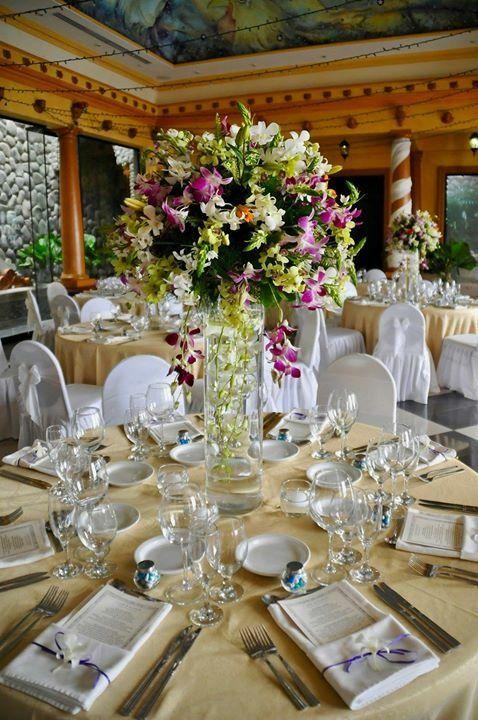 Wedding decoration at Villa Caletas, Costa Rica Photo by ...