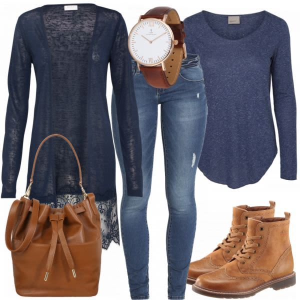 CasualCoolness Damen Outfit Komplettes Freizeit Outfit