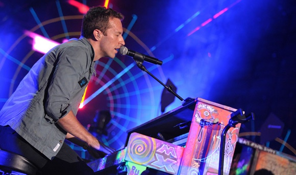 Chris Martin at his piano. How much would that piano sell for?