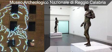 "Go to see the ""Bronzi di Riace"", original Greek sculptures in the National Museum of the Magna Grecia in Reggio Calabria"