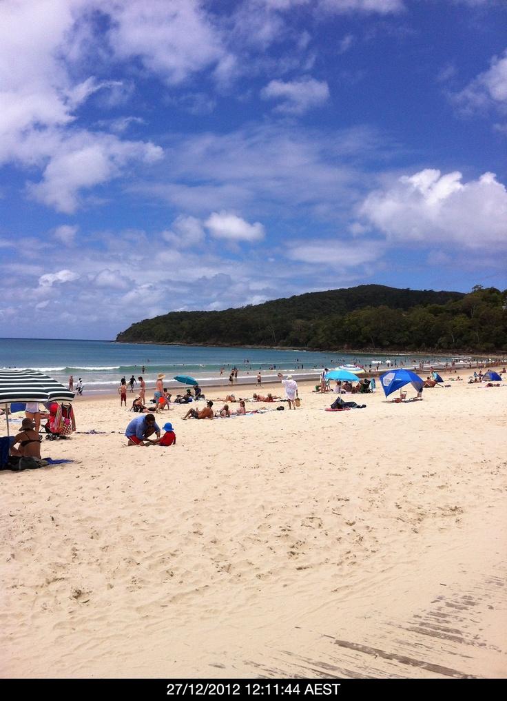 Noosa beach is beautiful