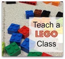 Downloadable LEGO Class Plans