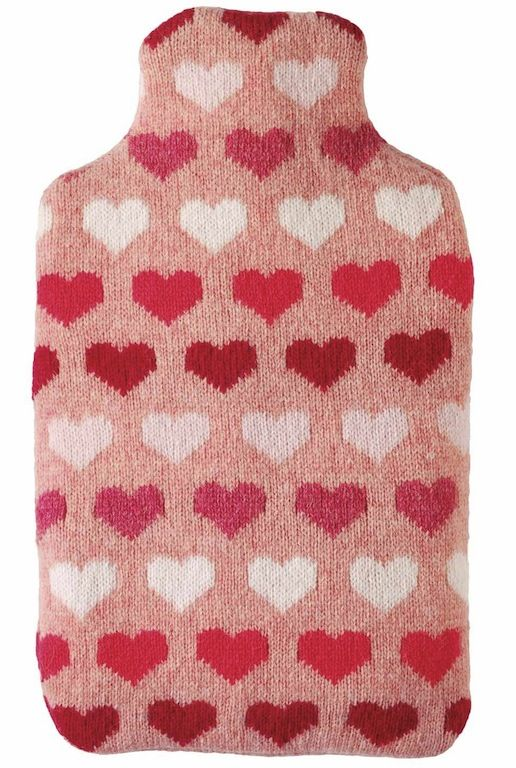 Knitted Body Warmer Hearts - Bath & Body - pjsandprose.com