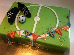 Voetbal taart 'PIP', Sport Taarten - Het Taartenhuis