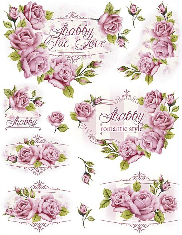 For Shabby Lovers -Print it