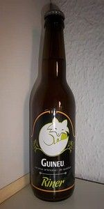 Try this Spanish beer instead of a PBR    Guineu Riner