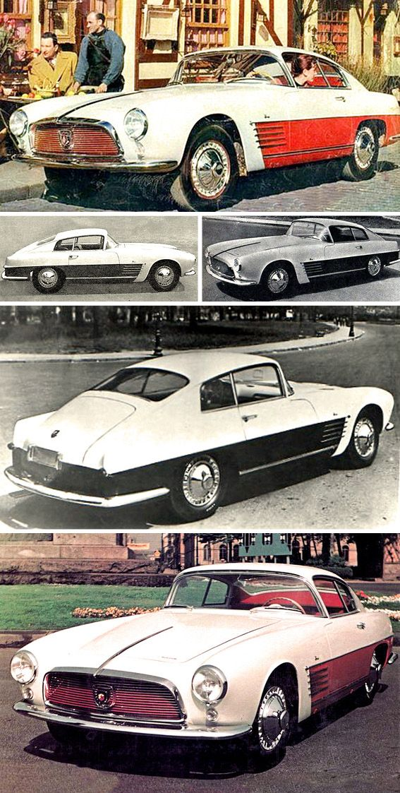 Renault Frégate Autobleu, 1955. A coupé based on Renault's top-of-the-range sedan, powered by an Abarth-tuned engine. Autobleu's financial troubles meant the car remained a one-off. It was recently discovered and is being restored.