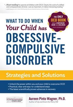 This OCD book by Dr. Aureen Pinto Wagner provides facts about obsessive compulsive disorder (OCD) in children and teens and help for people dealing with anxiety. It describes cognitive behavioral therapy (CBT), a treatment for OCD in children, as a way to improve and control the symptoms of OCD and anxiety.