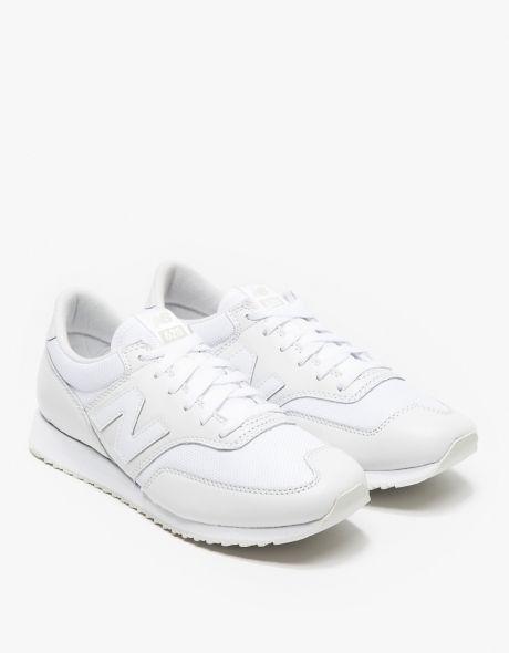 New Balance All White