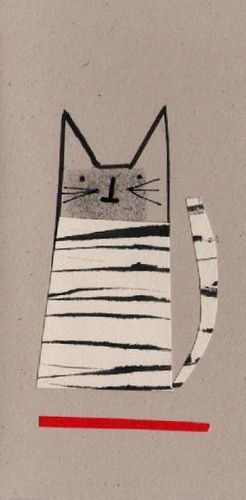 Anthea Carboni - Cat card