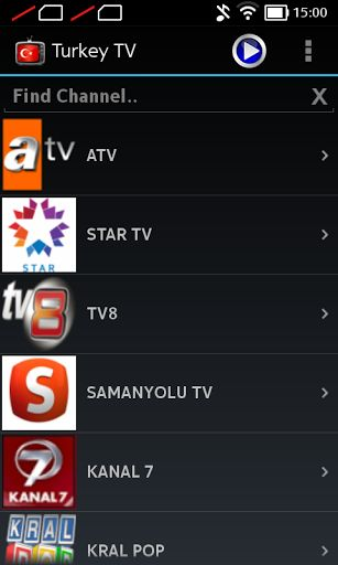 Application Turkey TV Online Free. Collect entertainment is in your hands.You can watch Turkey TV online for 24 hours.Both in Thailand and abroad more than 80 channels.Such as Turkey TV,News,Star entertainment,Music,Sports and so on. You can either use 3G 4G amd Wifi. Have a good application for your mobile and you can get news anywhere and anytime. - Can be viewed on both Wi-Fi and 3G.If you do not see the link.For you to choose link2 or link3. Special features. - No need to dow...