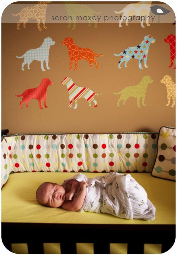 The 25 best dog nursery ideas on pinterest puppy for Dog themed bedroom ideas