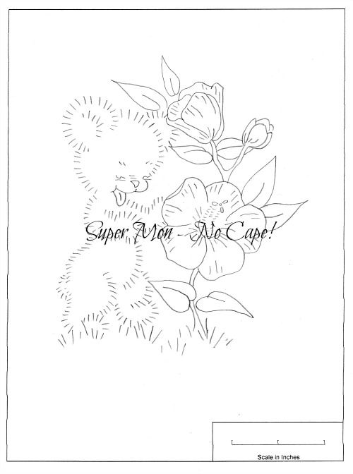 """Over the next six weeks I'll be sharing with you the most adorable patterns to make blocks for a baby or small child's quilt. For a baby quilt, embroider them on 10"""" squares. For a larger quilt, ..."""