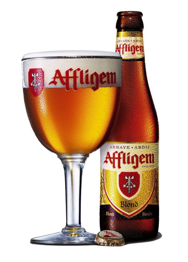 Affligem blond, Belgian Ale 6,7% ABV (Brouwerij Affligem / De Smedt (Heineken), Bélgica)