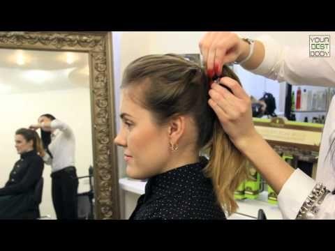 5 легких и быстрых причесок на каждый день | Hairstyle Tutorial | YourBestBlog - YouTube