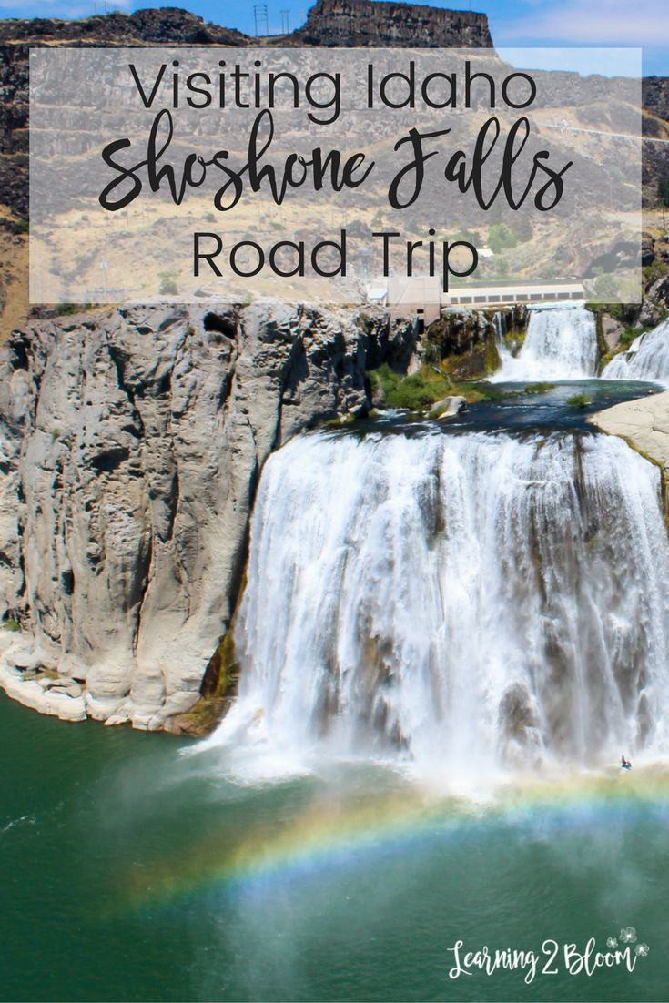 We stopped in Twin Falls, Idaho during our road trip and visited shoshone falls. We loved seeing the beautiful rainbow. This is a must see if you're in the area!