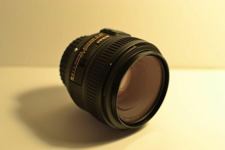 Nikon 50mm f/1.8 G AF-S Nikkor Lens MINT USED