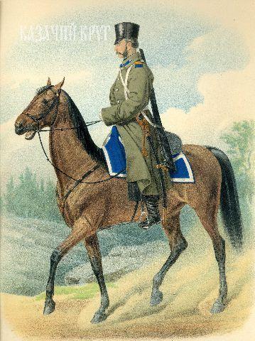 Лейб-гвардии Атаманский Е.И.В. Наследника Цесаревича полк. Урядник (походная форма). 17 декабря 1878 г.