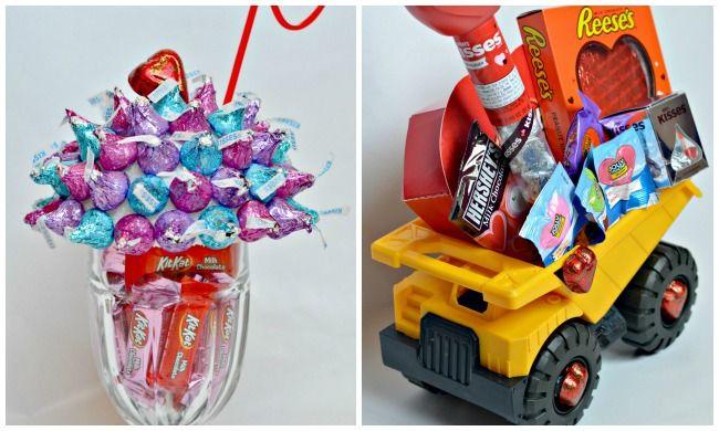 2 Sweet Kids' Valentine Baskets #HSYMessageOfLove | The Shopping Mama