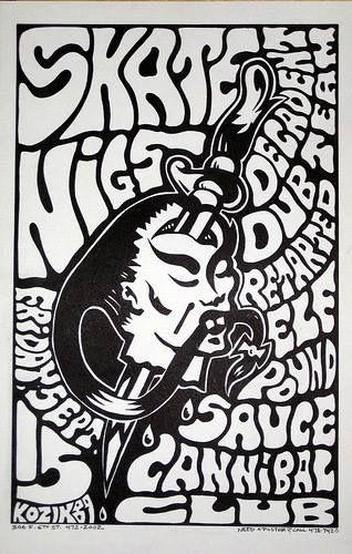 Poster art by Frank Kozik
