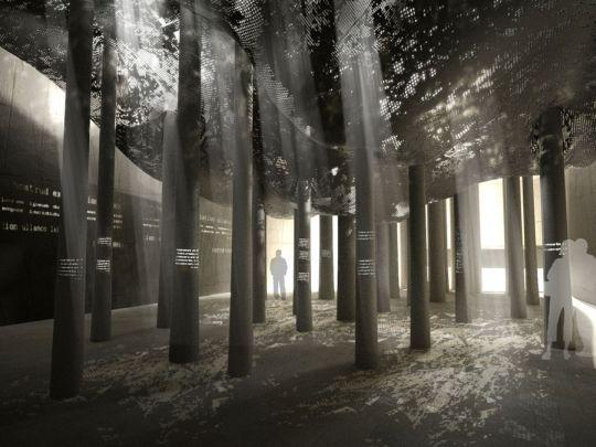 tree forms installation