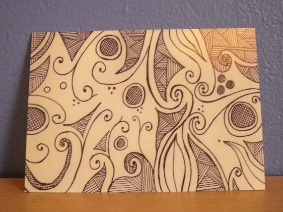 Hey, I found this really awesome Etsy listing at https://www.etsy.com/listing/154451928/doodle-art-postcard-abstract-postcard