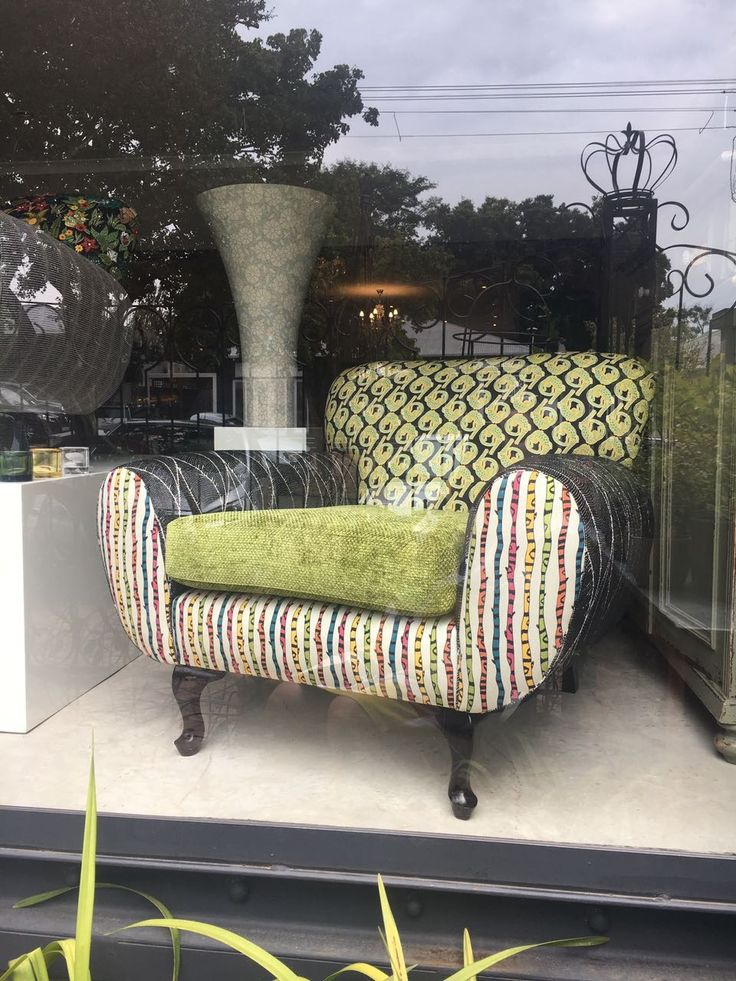 Ardmore Fabric created into a beautiful chair
