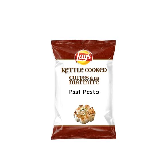 I just created Psst Pesto on Lay's Kettle Cooked for #DoUsAFlavourCanada. What's your flavour idea? Create the next great Lay's flavour & you could win† $50k + 1% of your flavour's future sales†† http://lays.ca/flavour