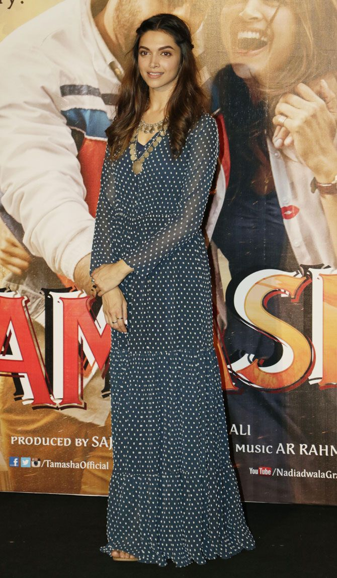 Deepika Padukone at the trailer launch of #Tamasha.
