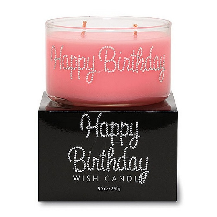 Primal Elements Soy Wax Candle - Happy Birthday www.envig.com