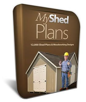 12,000 Shed Plans with Shed Blueprints, Diagrams & Woodworking Designs, Kits, Storage Garden Shed Plans Patterns