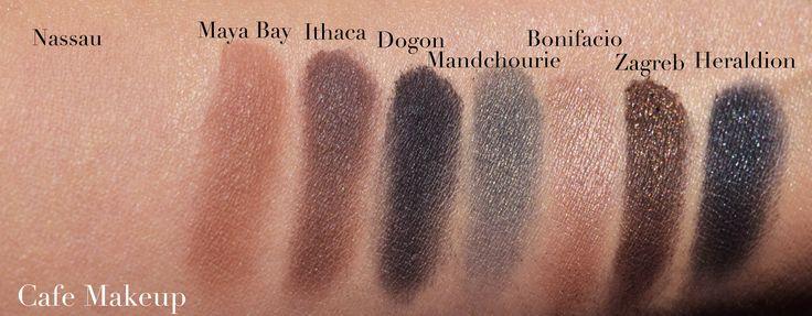 Narsissist Matte Shimmer Eyeshadow Palette 4a