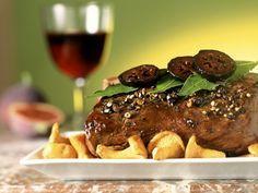Leichtes Hirschbraten mit Pfifferlingen Rezept | EAT SMARTER