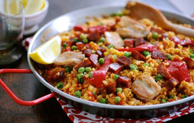 Brindisa Paella : Recipes from Ocado