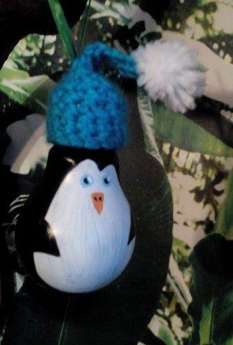 Pingwin z żarówki