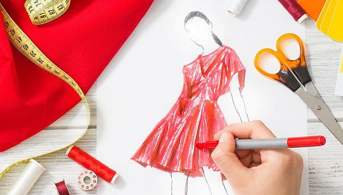 Buy Fashion Design and Dressmaking Online Course for just £29.99 Tailor your style skills with the Fashion Design and Dress Making Online Course      Deepen your knowledge on materials, the design process and the rules of aesthetics      Includes a background on the history of fashion including the social landscape and economics      Can help you produce your own clothes or even a profitable...