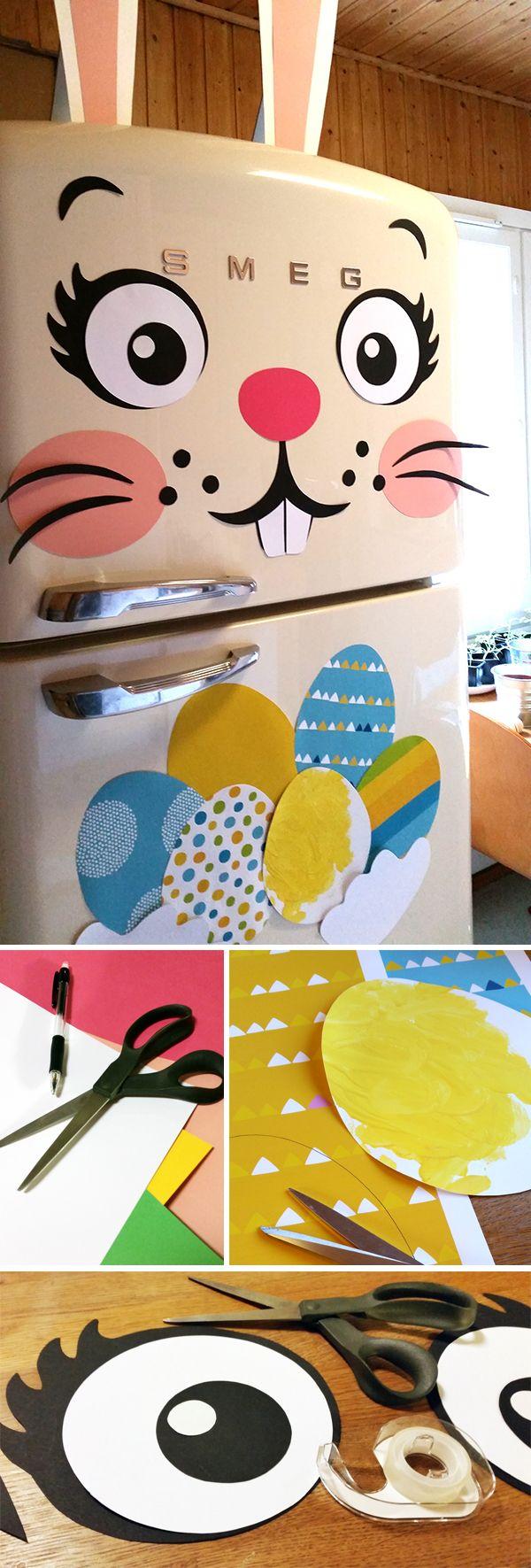 Jääkaappipupu.  lasten | askartelu | pääsiäinen | käsityöt | koti | paperi | DIY ideas | kid crafts | Easter | home | paper crafts | Pikku Kakkonen