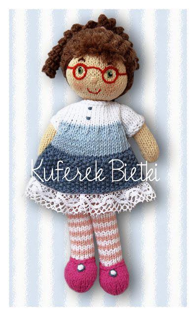 Gehäkelte Puppe /  Crochet Doll *** Glasses