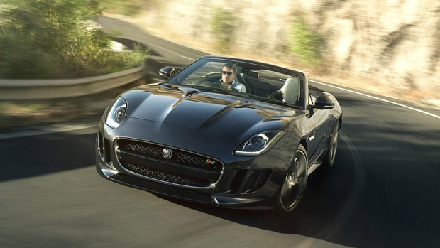 2013 Jaguar F-Type    Jaguar has recently revealed their newest project: a two-seater, convertible sports car.