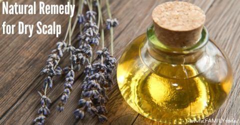 Natural Remedy for Dry Scalp naturalfamilytoday.com